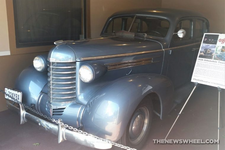 A Christmas Story Old Man family 1938 Touring Sedan car details