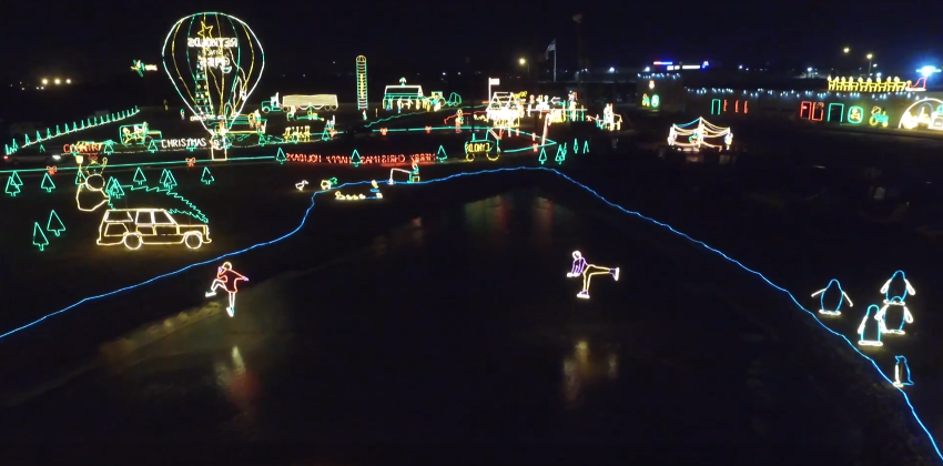 4 Drive Thru Holiday Light Displays In Indiana The News