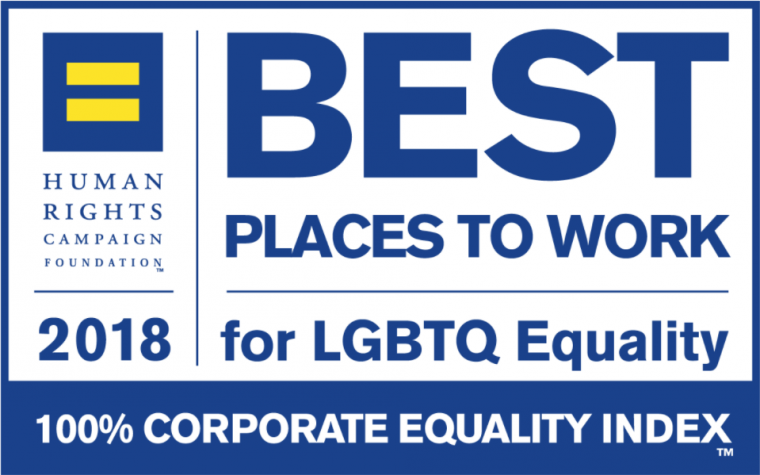Human Rights Campaign 2018 Best Places to Work Corporate Equality Index