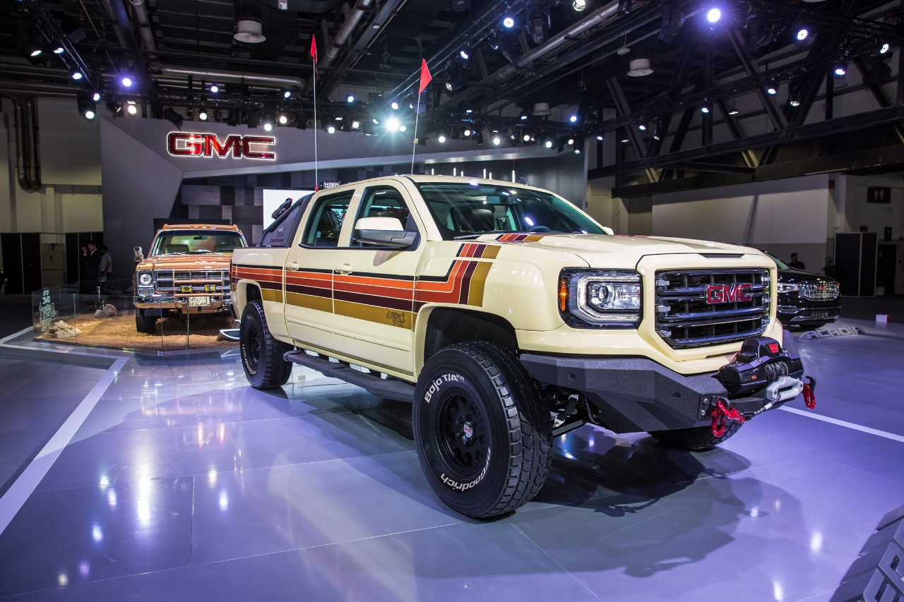 GMC Brings Desert Fox Middle East Concept Truck to Dubai ...
