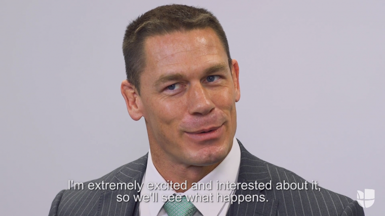 John Cena Univision Interview