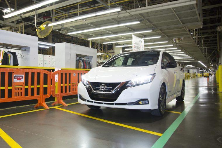 2018 Nissan LEAF Job 1 Smyrna
