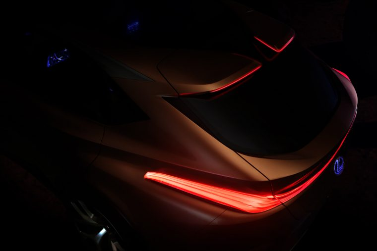 Lexus LF-1 Limitless crossover concept vehicle Detroit Auto Show teaser design