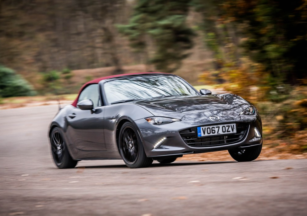 mazda releases special edition miata for uk probably loves them more than us too the news wheel. Black Bedroom Furniture Sets. Home Design Ideas
