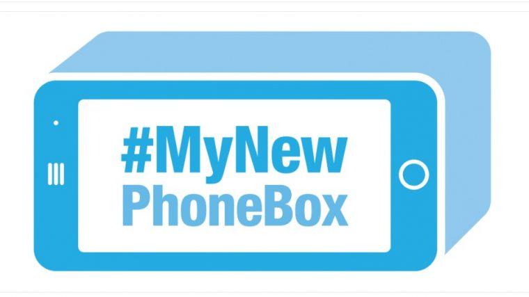Ford Phone Box Sticker
