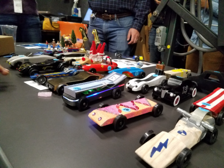 Pinewood Derby Cars Operation Good Cheer