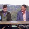 Ricky Wilson and David Hasselhoff