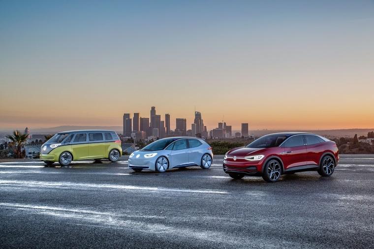 Volkswagen I.D. concept family