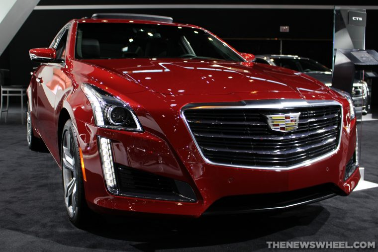 2015 Cadillac CTS Sedan - Chicago Auto Show