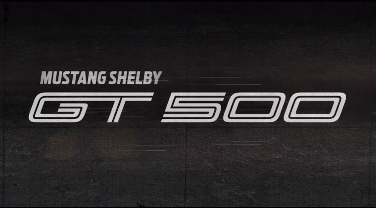2019 Ford Mustang Shelby GT500 logo