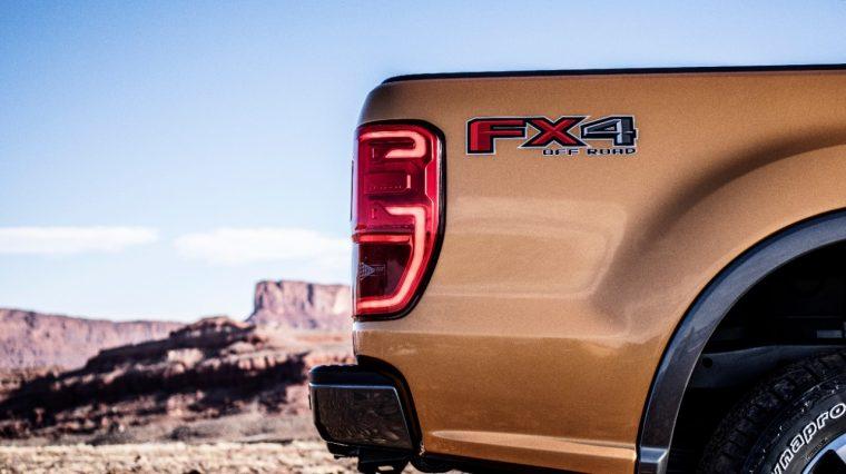 2019 Ford Ranger FX4 Badge