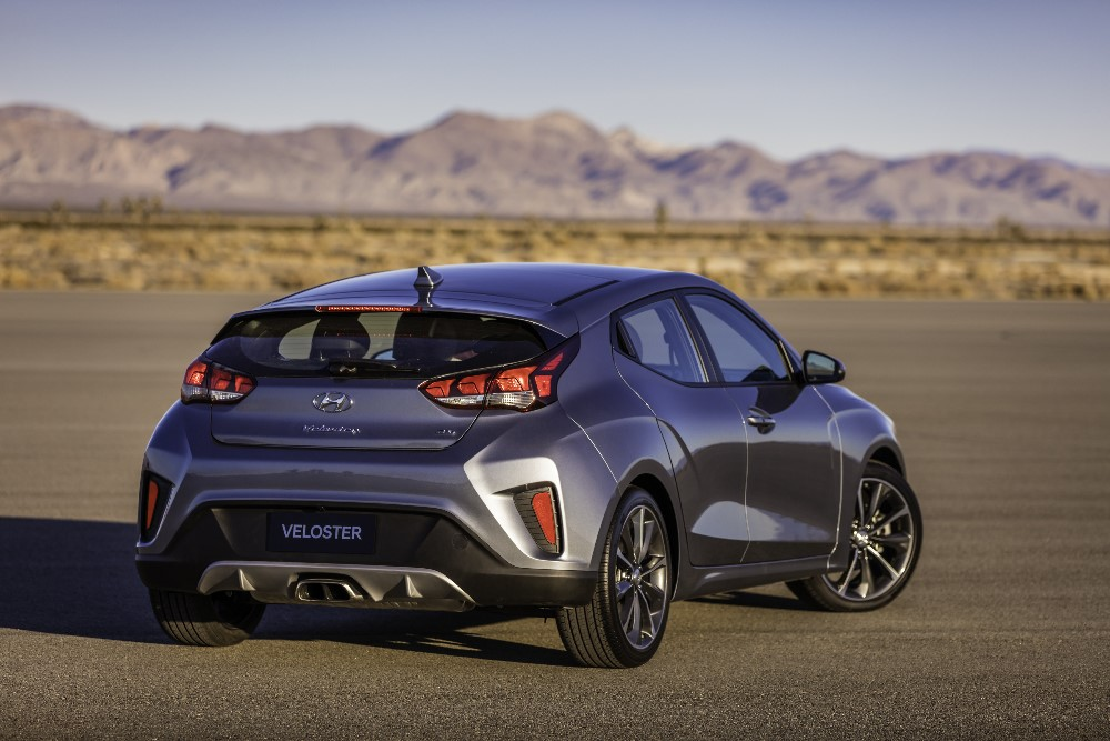 Closer Looks At The 2019 Hyundai Veloster Amp Veloster N