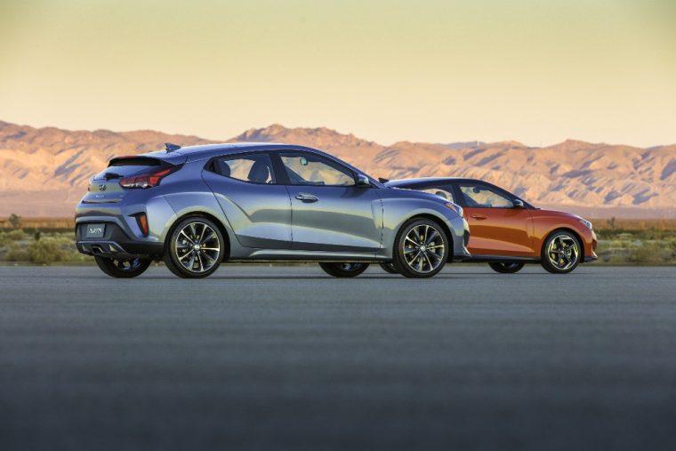 2019 Hyundai Veloster hatchback car redesign generation turbo profile