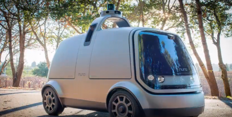 nuro self-driving delivery car