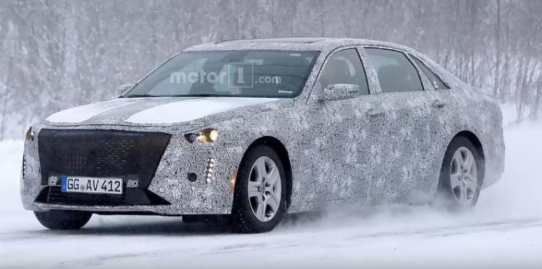 spy shots 2019 Cadillac CT6