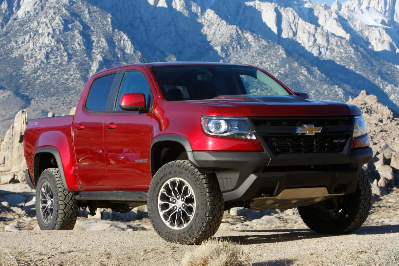 FOUR WHEELER Names 2018 Chevrolet Colorado ZR2 Pickup ...