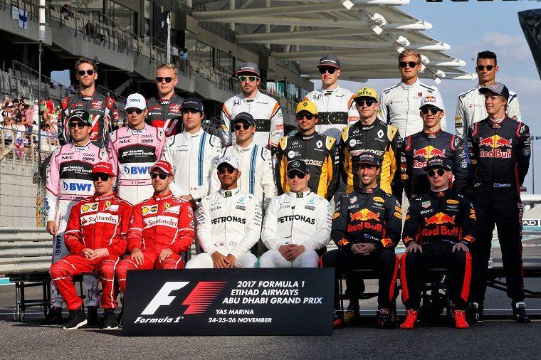 Final 2017 F1 Driver Lineup