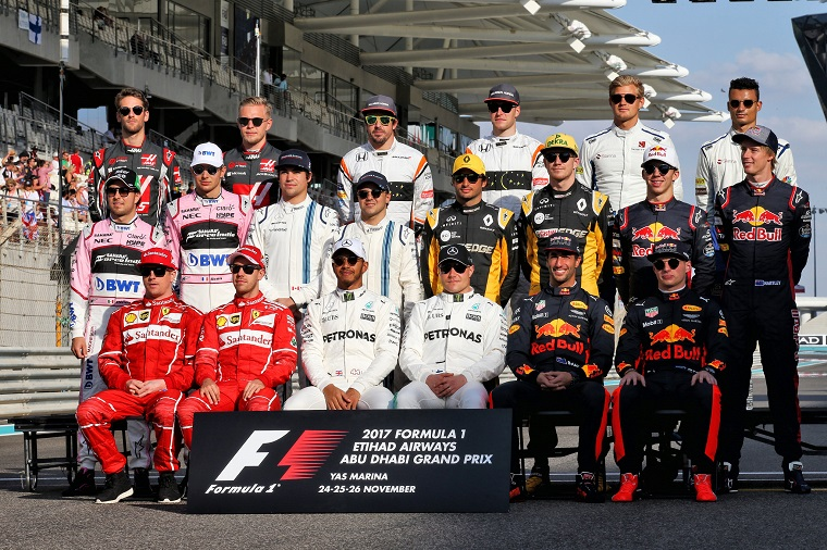 breaking down the official 2018 formula one driver lineup the news wheel. Black Bedroom Furniture Sets. Home Design Ideas