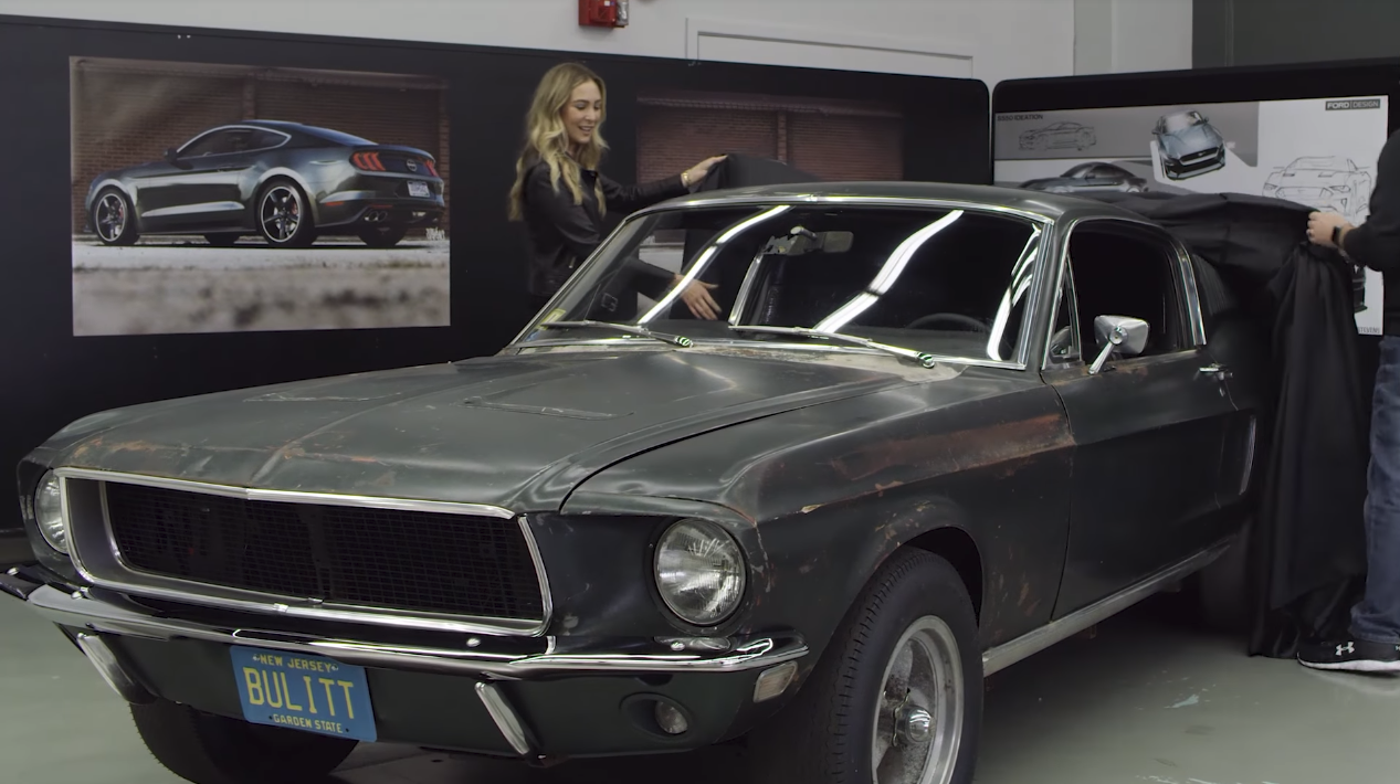 ford mustang bullitt uncovered 2 the news wheel. Black Bedroom Furniture Sets. Home Design Ideas