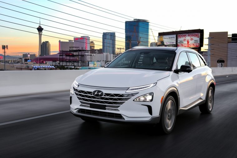 Hyundai NEXO fuel cell vehicle crossover SUV new hydrogen technology (7)