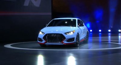 Hyundai Veloster N reveal debut 2018 North American International Auto Show N performance brand car pictures