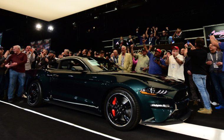 Lot # 3005 2019 Mustang Bullitt VIN 001