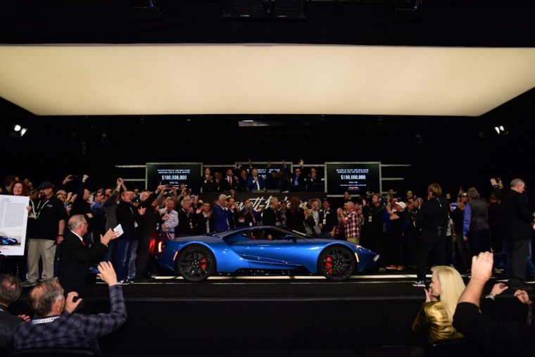Lot # 3010 2017 Ford GT in Liquid Blue