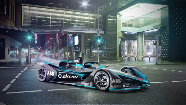 New Gen2 Formula E Car