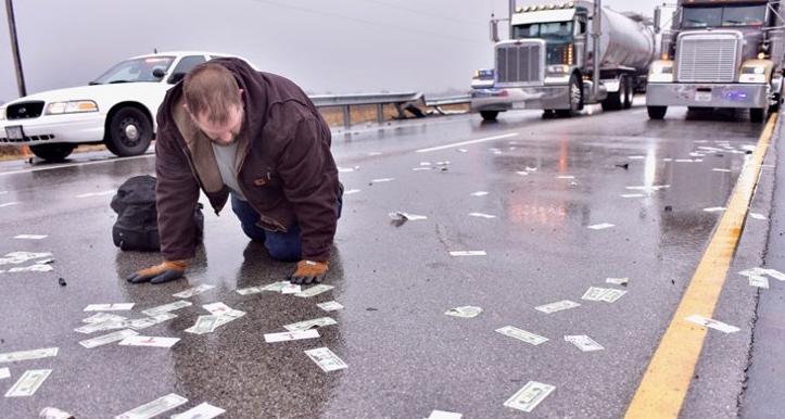 Money Illinois Highway