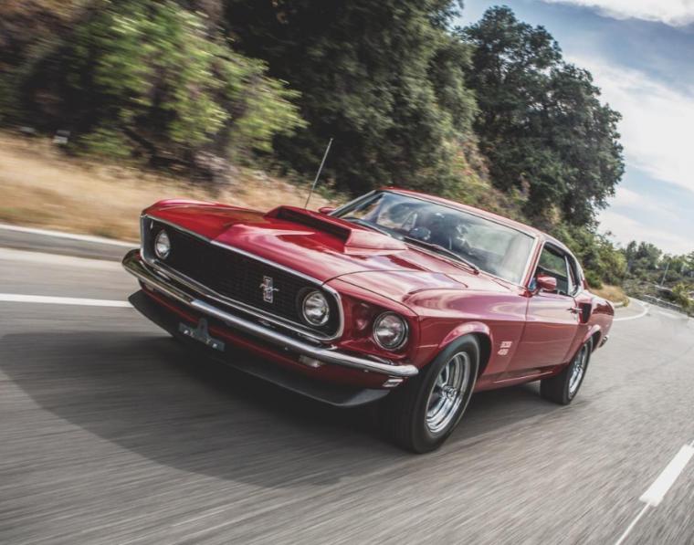 Ford Boss 429 Mustang Jay Leno