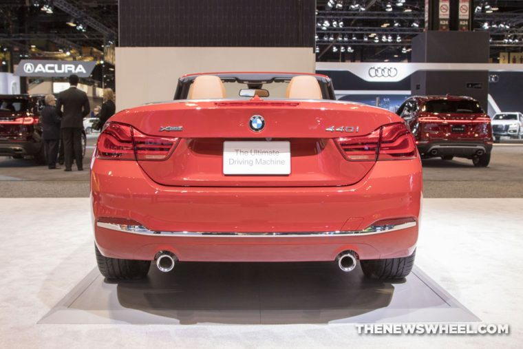 2018 BMW 440i Convertible 4 Series Chicago Auto Show CAS