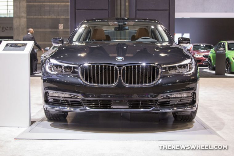 2018 BMW 740e xDrive iPerformance 7 Series Chicago Auto Show CAS