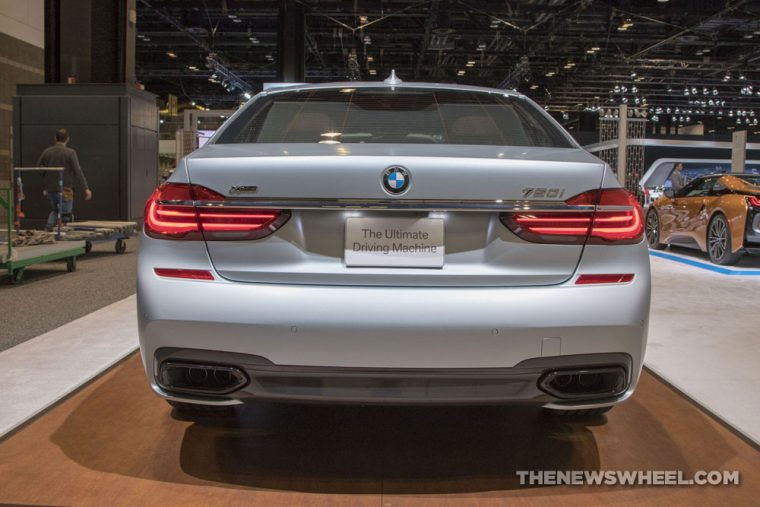 2018 BMW 750i xDrive 7 Series Chicago Auto Show CAS