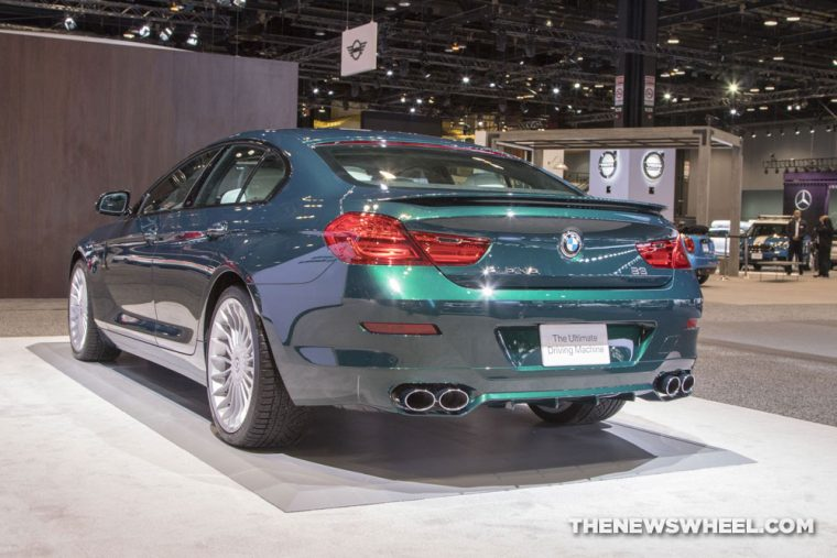 2018 BMW Alpina B6 Chicago Auto Show CAS