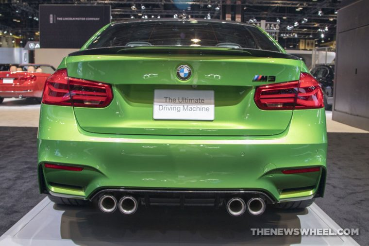 2018 BMW M3 Sedan Chicago Auto Show CAS