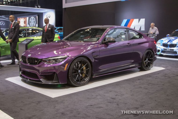 2018 BMW M4 Coupe Chicago Auto Show CAS