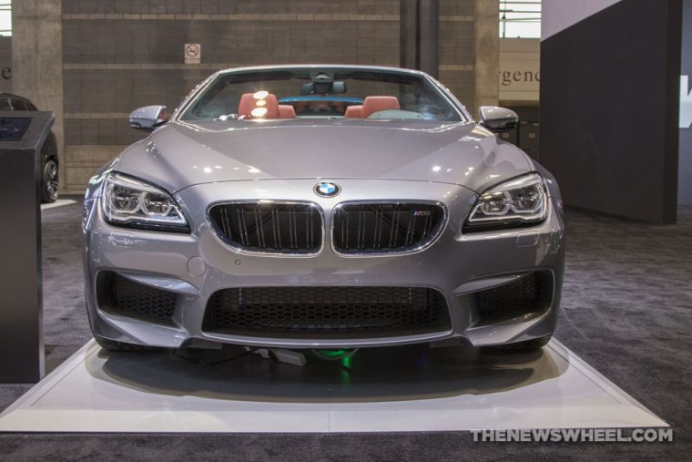 2018 BMW M6 Convertible Chicago Auto Show CAS