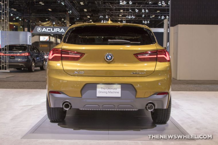2018 BMW X2 Chicago Auto Show CAS