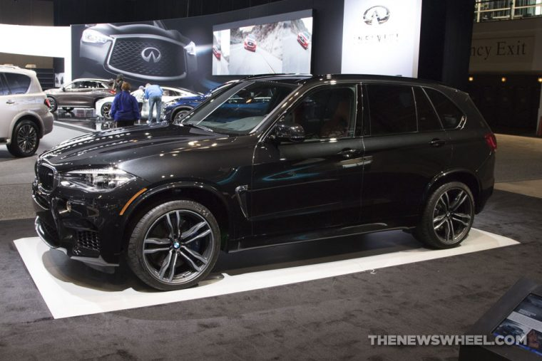 2018 BMW X5 M Chicago Auto Show CAS