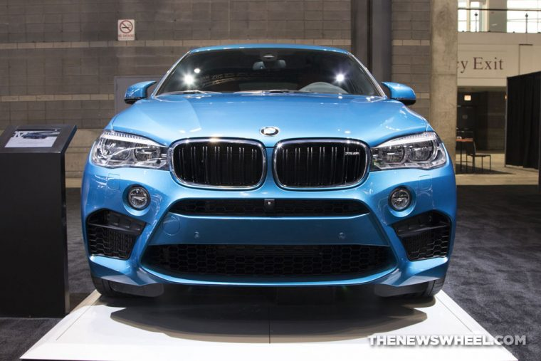 2018 BMW X6 M Chicago Auto Show CAS