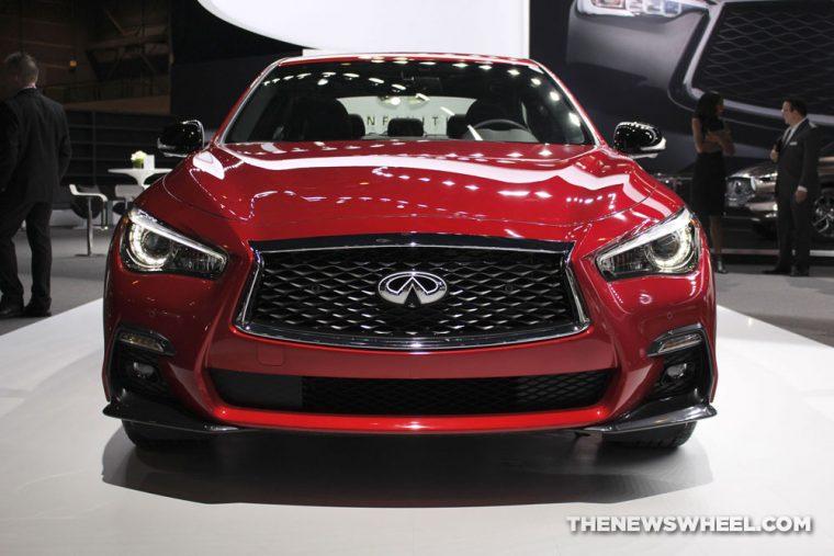 2018 INFINITI Q50 S Chicago Auto Show CAS