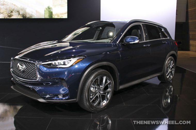 2018 INFINITI QX50 Chicago Auto Show CAS