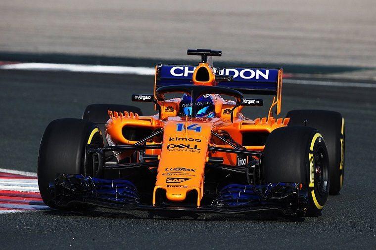 2018 McLaren-Renault MCL33