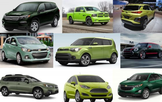 Captivating Car Colors Which 2018 Models Are Available In Green