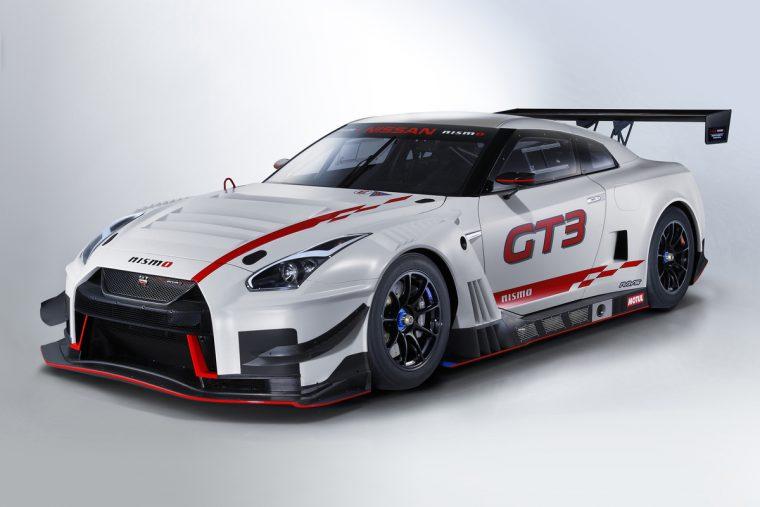 2018-spec Nissan GT-R NISMO GT3