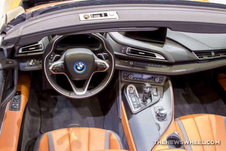 2019 BMW i8 Roadster Chicago Auto Show CAS