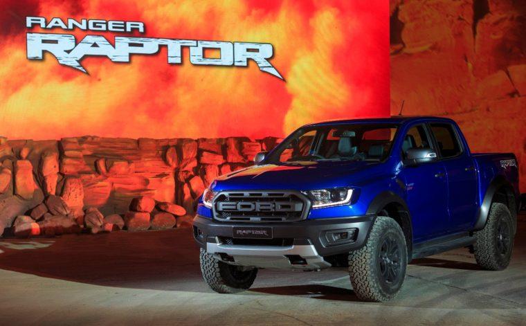 2019 Ford Ranger Raptor Launch Bangkok Motor Show