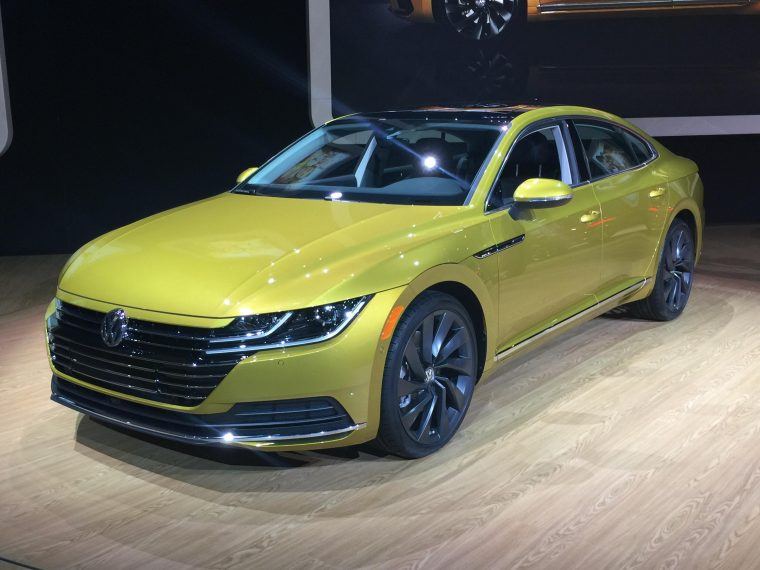 Volkswagen Reveals All New 2019 Arteon At Chicago Auto Show The