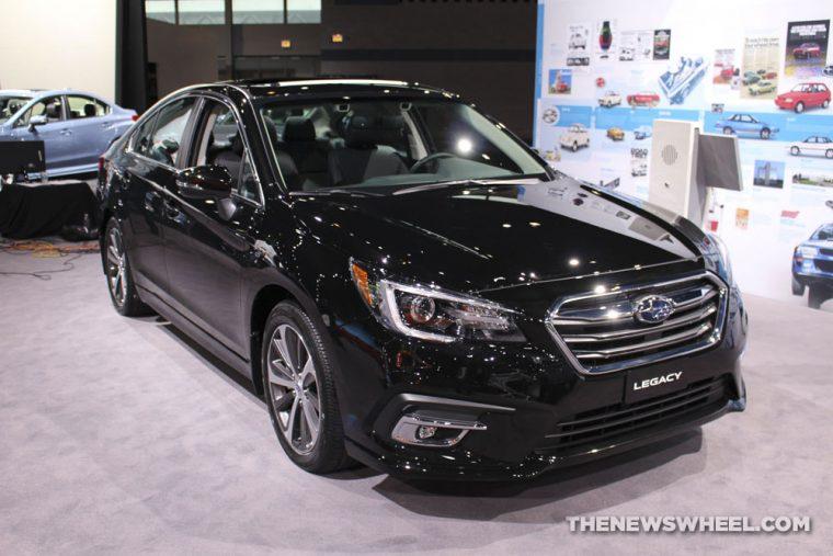 Chicago Auto Show - 2018 Subaru Legacy