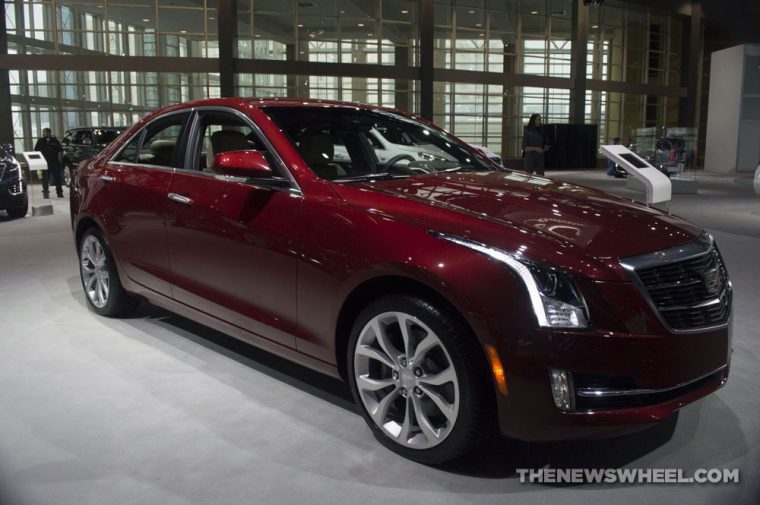 Chicago Auto Show - 2018 Cadillac ATS Sedan Premium Luxury